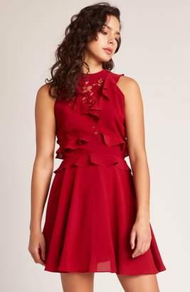 BB Dakota Crazy In Love Ruffle Dress