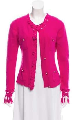 Dolce & Gabbana Button-Up Wool Cardigan