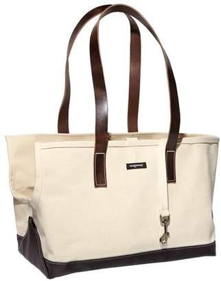 Wagwear wagwear Canvas & Leather Pet Carrier Bag