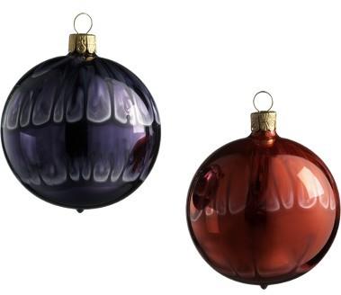 Art Glass Ball Ornament Set