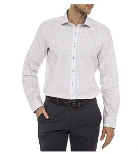 Geoffrey Beene Roosevelt Check Slim Fit Shirt