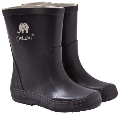 Celavi Navy Logo Wellies