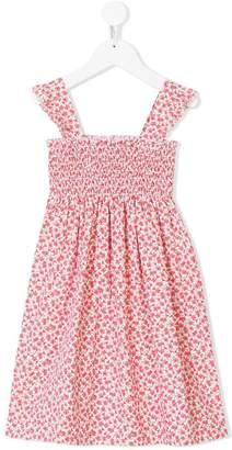 Siola smocked floral print dress