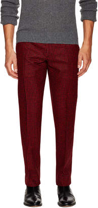 Christian Dior Checkered Wool Trouser