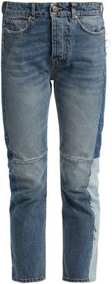 Golden Goose Happy panelled slim-leg jeans