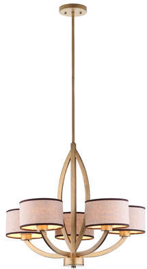 Safavieh Talia 5-Light Drum Chandelier