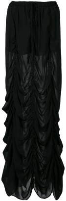 Vera Wang ドレープスカート