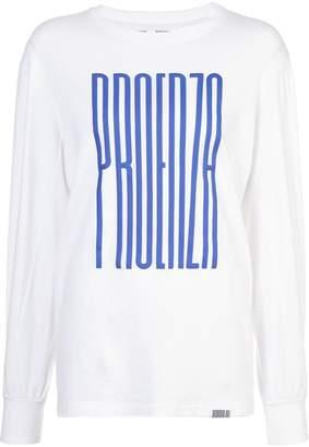Proenza Schouler PSWL Graphic Long Sleeve T-Shirt