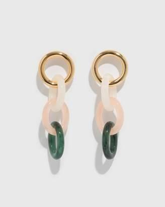 Lizzie Fortunato Link Earrings