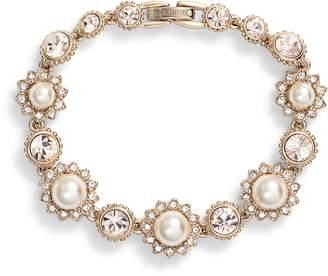Marchesa Imitation Pearl Line Bracelet