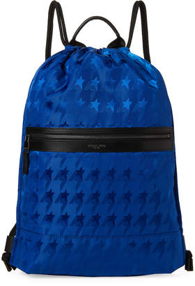 47a8f0c2e766 Michael Kors Cobalt Kent Startooth Drawstring Backpack