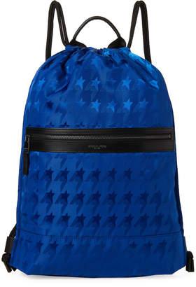 2df13d9aa43d Michael Kors Cobalt Kent Startooth Drawstring Backpack