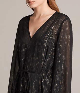 AllSaints Alia Flec Dress