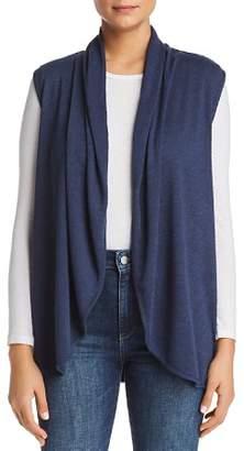 Bobeau B Collection by Kori Shawl-Collar Knit Vest