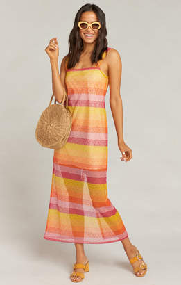Show Me Your Mumu Harlowe Maxi Dress ~ Fiesta Sunset Stripe