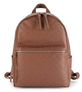 226671f979e French Connection Marin Embossed Faux Leather Backpack