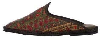 Fifi Venezia Paisley Loafer Mules