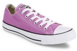 Converse Unisex Chuck Taylor All-Star Canvas Low-Top Sneakers $55 thestylecure.com