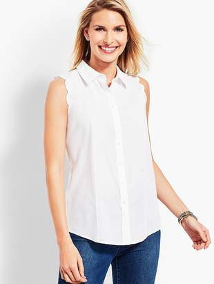 Talbots Scallop Shirt