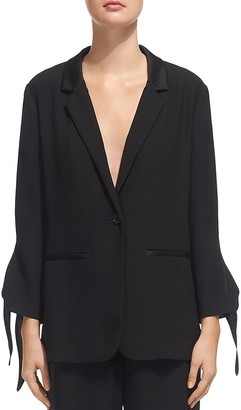 Whistles Tie-Cuff Jacket $280 thestylecure.com