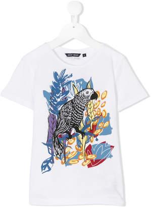 Antony Morato Junior parrot print T-shirt