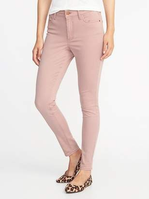 Old Navy High-Rise Sateen Rockstar Pop-Color Jeans for Women