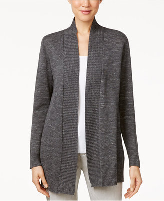 Eileen Fisher Open-Front Knit Cardigan $188 thestylecure.com