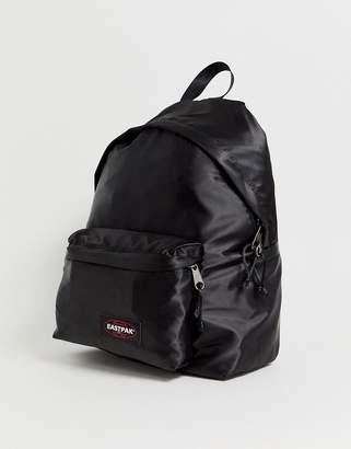 Eastpak Padded Pak'R backpack in black satin 24l