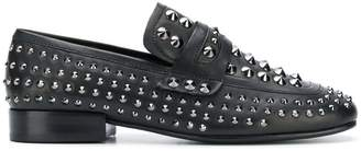 Ash rock stud loafers
