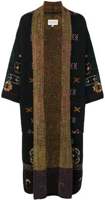 Etro long jacquard knit cardigan