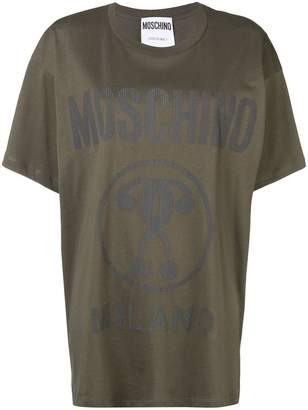Moschino oversized logo T-shirt