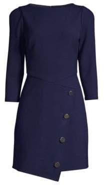 Shoshanna Upton Button-Front Dress