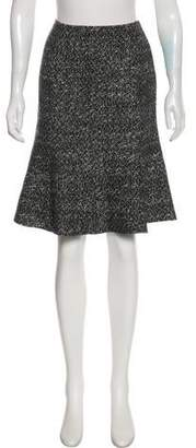 Lafayette 148 Wool Knee-Length Skirt