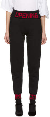 Opening Ceremony Black Elastic Logo Lounge Pants