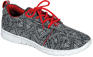 Gray & Red Jump Sneaker $35.99 thestylecure.com
