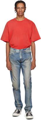 Rhude Blue Breakaway Jeans