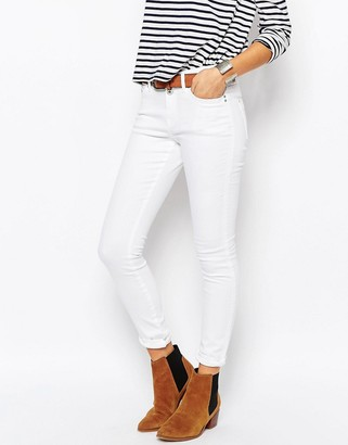 Esprit High Waisted Skinny Jeans $64 thestylecure.com