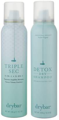 Drybar Triple Sec and Detox Dry Shampoo 2-Piece Styling Kit