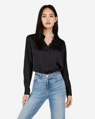 Express Satin Dolman Shirt