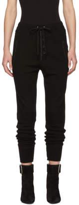 Etoile Isabel Marant Black Wool Jeptha Lounge Pants