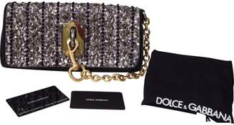 Dolce & Gabbana Black Leather Clutch bag
