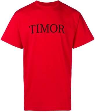 Paura 'Timor' print T-shirt