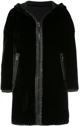 Fendi Pre-Owned Reversible Long Sleeve Fur Coat