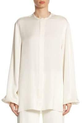 The Row Maura Silk Shirt