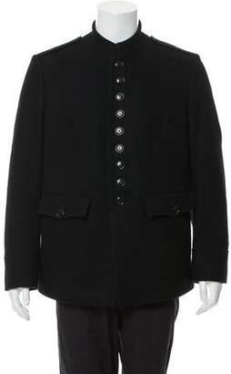 Dries Van Noten Wool Embroidered Coat