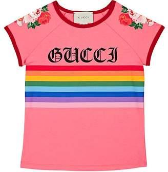 Gucci Kids' Graphic Cotton T-Shirt