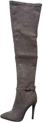 Asos Grey Suede Boots