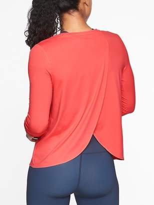 Athleta Sunlover UPF Tulip Back Top
