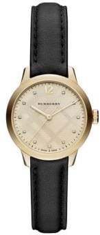 Burberry Classic Round Strap Watch