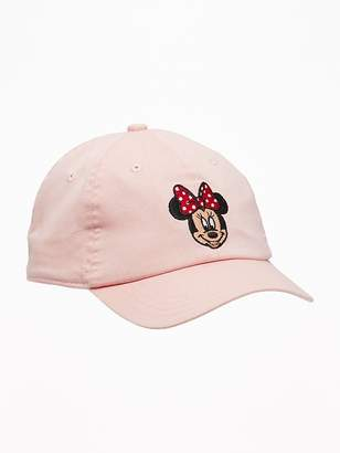Old Navy Disney© Minnie Mouse Baseball Cap for Toddler Girls